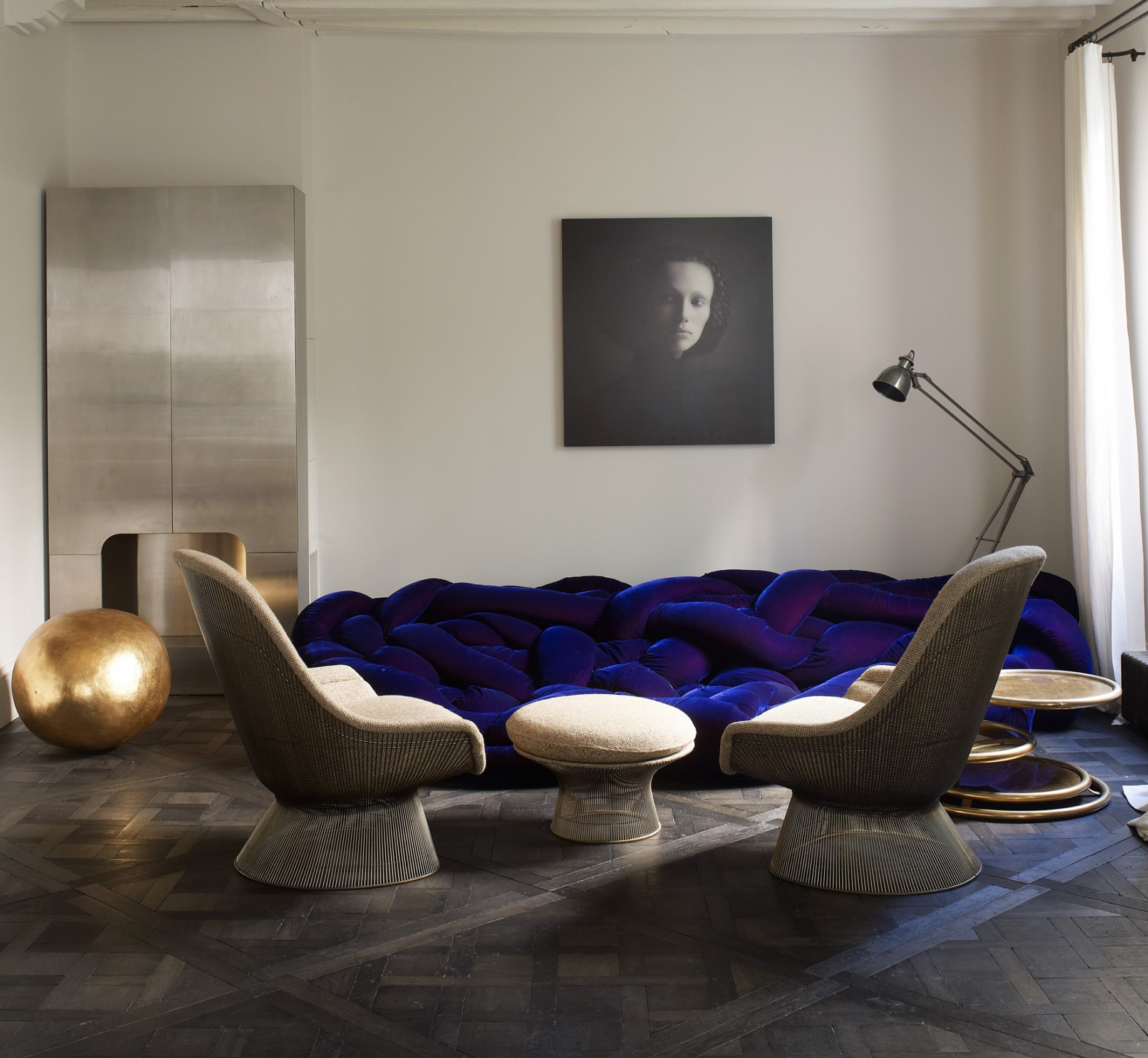 Kensington Grey Oak   Versailles Panels   Element 7