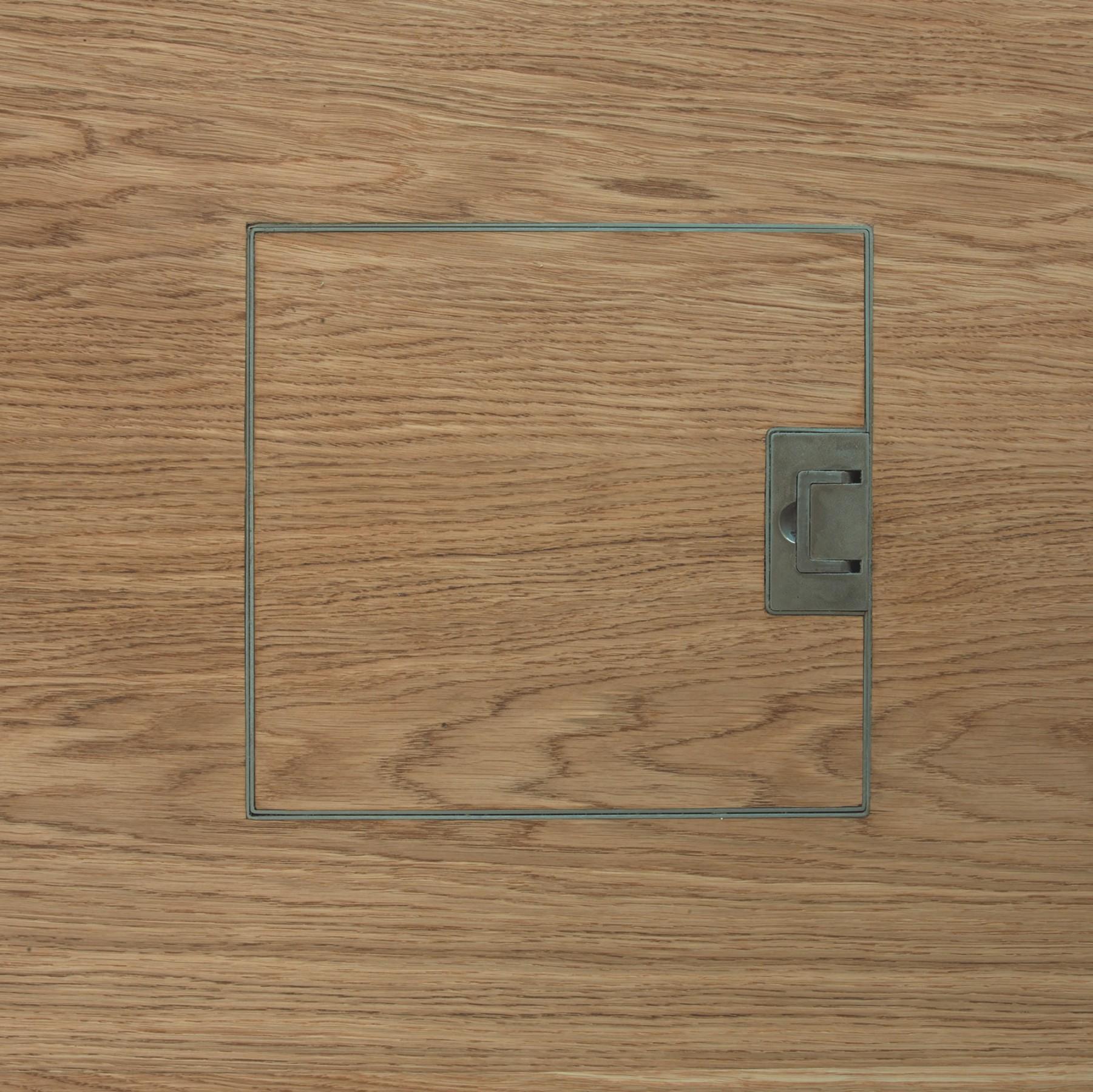 Electrical floor socket | Grain end matched | Element 7
