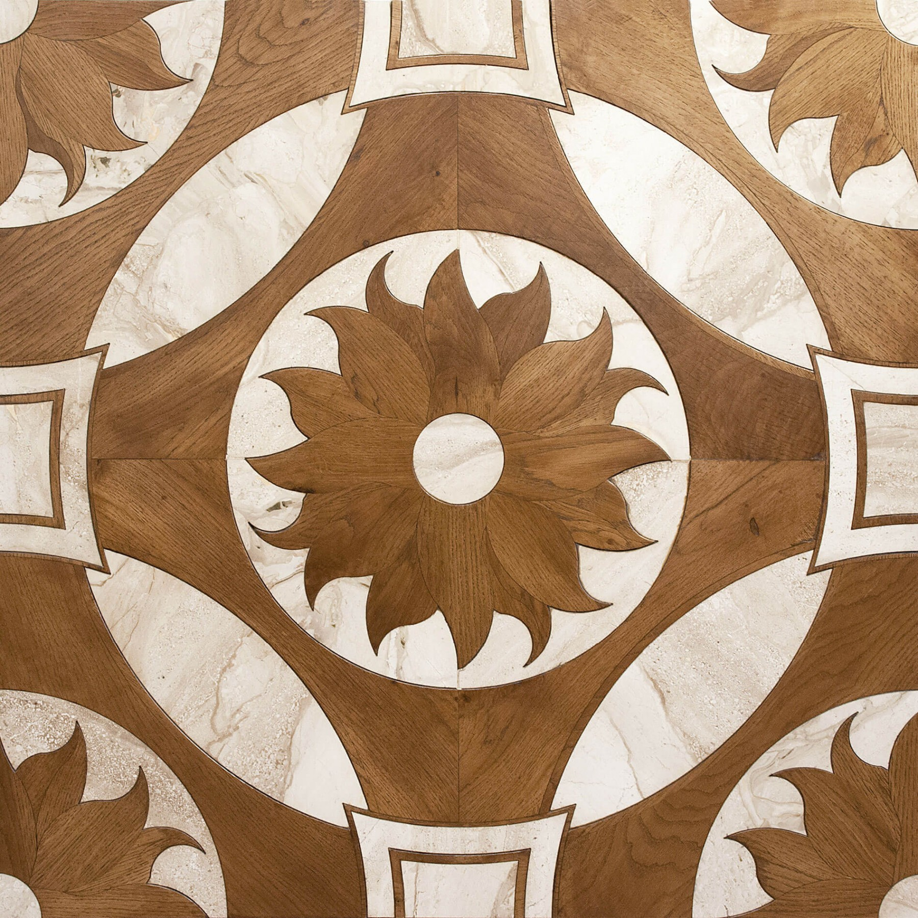 Oak & Travertine Marble | Element 7