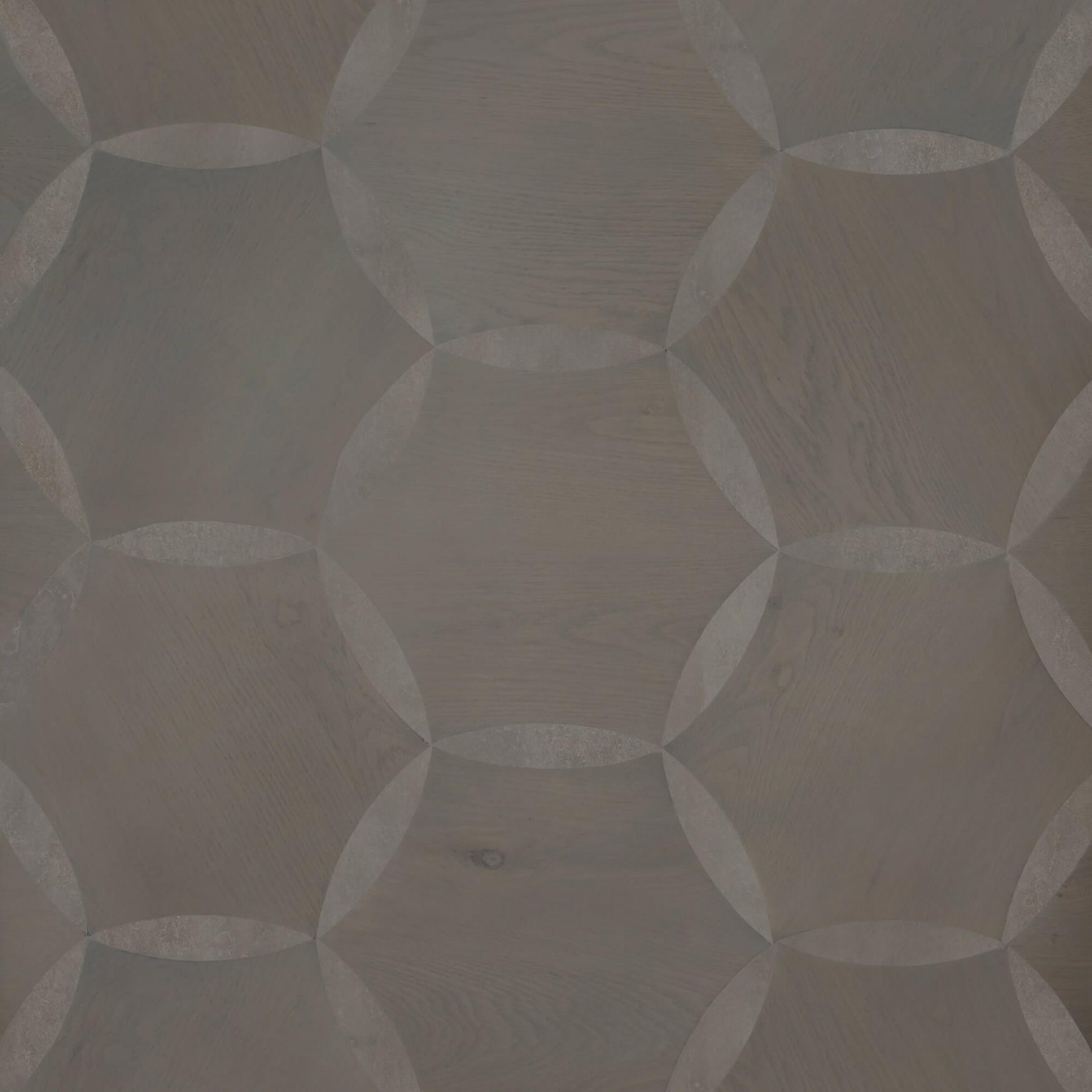 Ash Grey Oak & Moroccan Limestone
