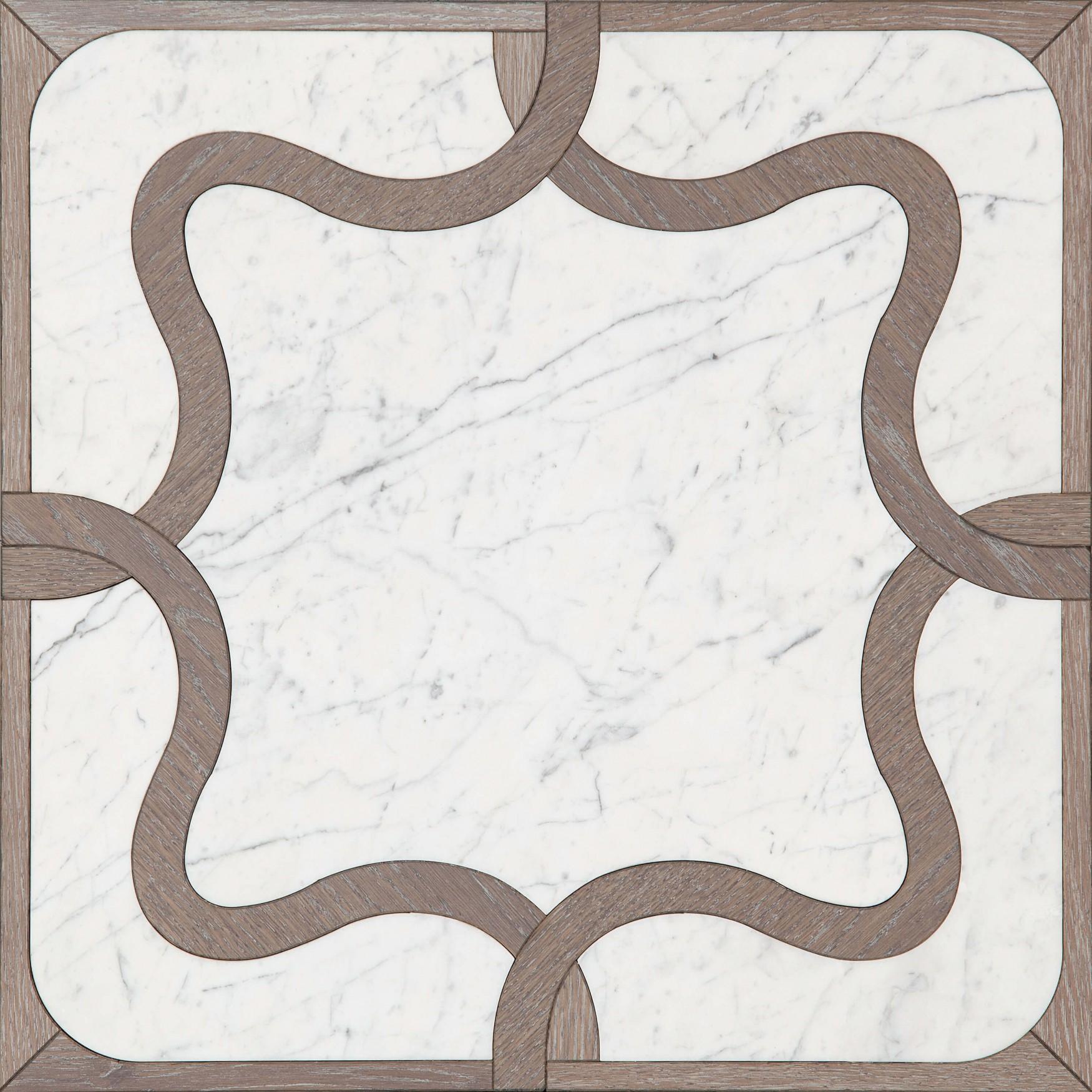 Oak and Carrara Marble 1362