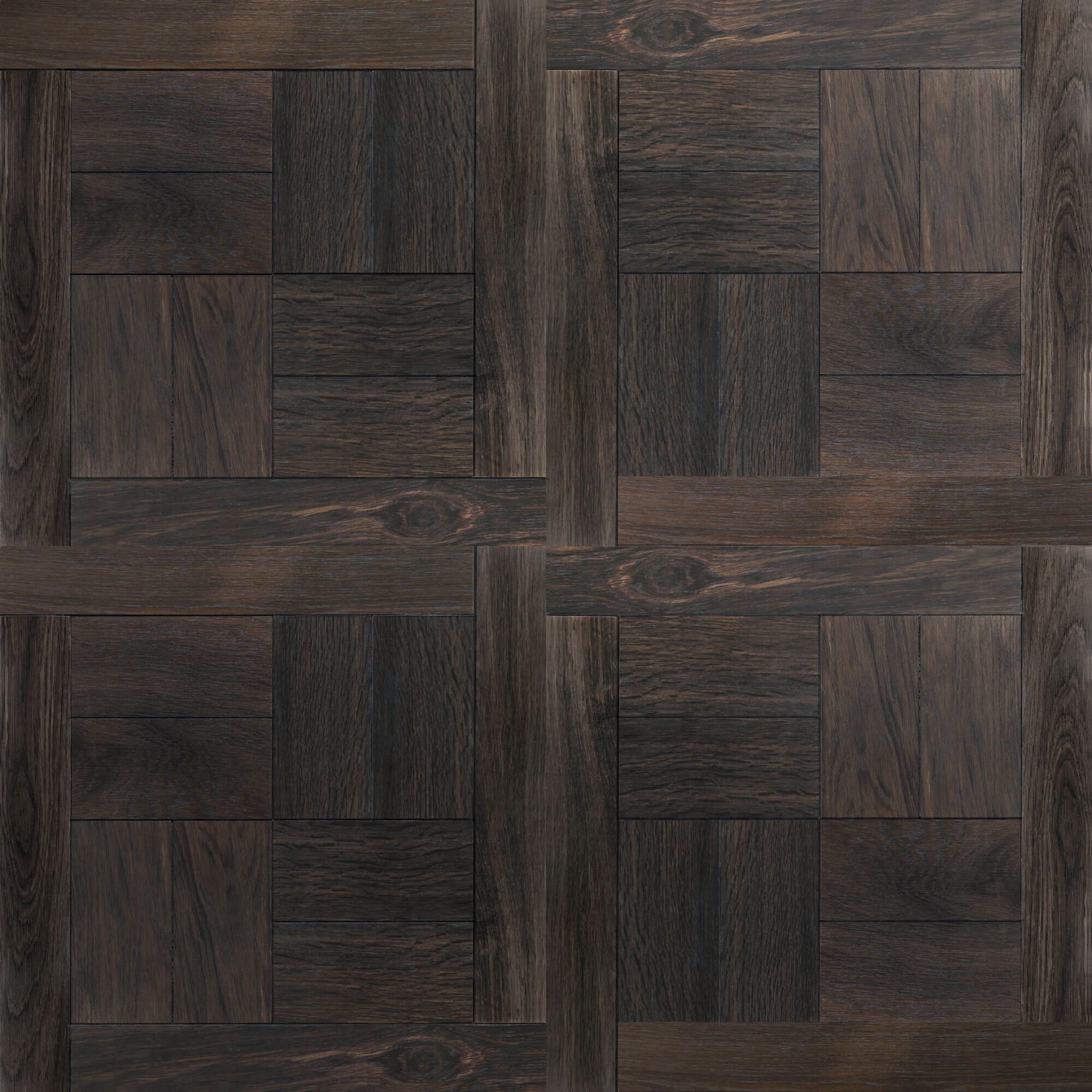 Dark Parisian Oak – MOD 262 4 Grid Panels