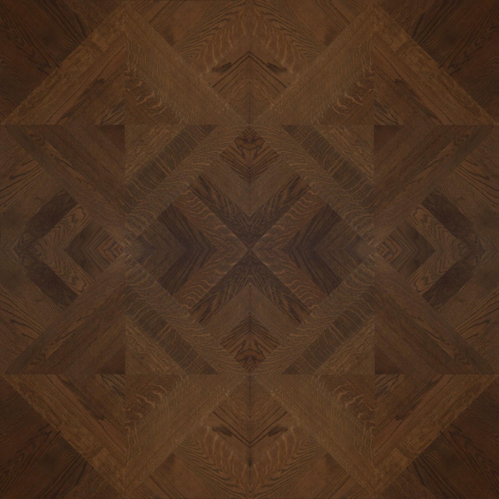 Brown Oak – Custom Panel 4 Grid